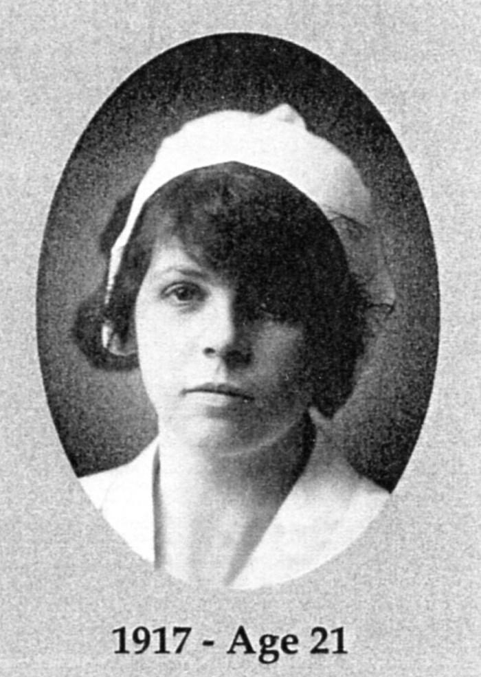 A Utah nurse during the pandemic of 1918